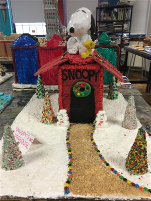 Snoopy Gingerbread