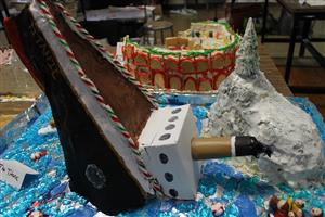 Titanic Gingerbread