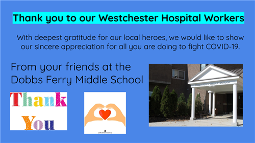Thank You Westchester Hospital Workers